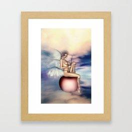Zarte Versuchung Framed Art Print