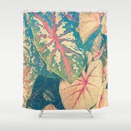Surreal Caladium Shower Curtain