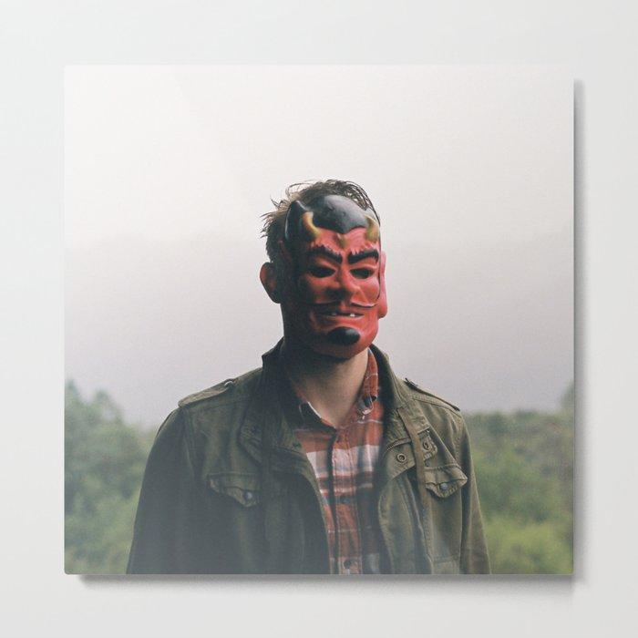 (the devil) Metal Print