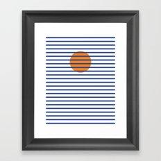 Sunshine Sea Framed Art Print