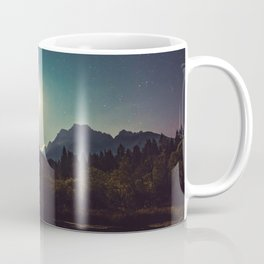 Moonshine, Stars and Nature Coffee Mug