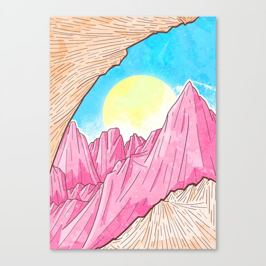 A Spring Morning Canvas Print