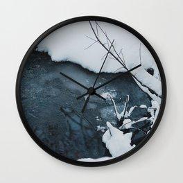 Portland Snowpocalypse I Wall Clock