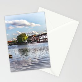 Preparing For The Royal Regatta Stationery Cards