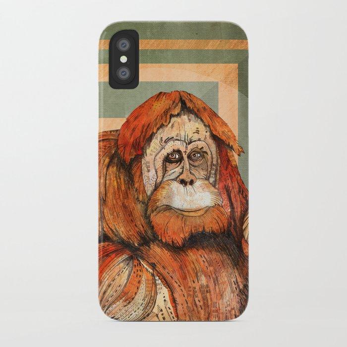 Mr. Orangutan iPhone Case
