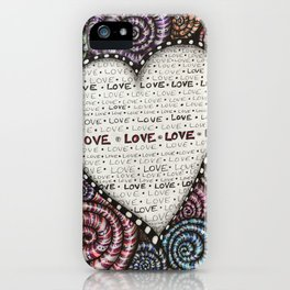 All we need is LOVE! iPhone Case