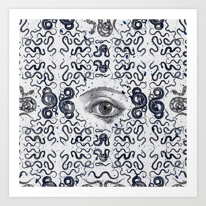 DEVIL EYE Art Print