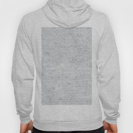 White Washed Brick Wall Stone Cladding Hoody