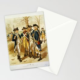 Infantry: Continental Army 1779-1783 by H.A. Ogden (1879) Stationery Cards