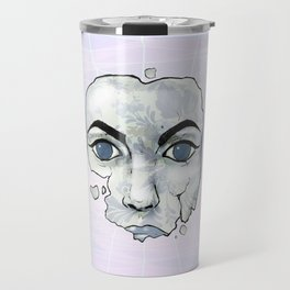 Porcelain Doll Broken Beauty Travel Mug