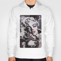 monroe Hoodies featuring Monroe by Ross Collins Artist