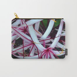 Spider Lilies Carry-All Pouch