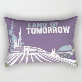 land of tomorrow Rectangular Pillow
