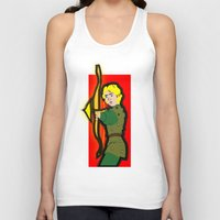 dungeons and dragons Tank Tops featuring DUNGEONS & DRAGONS - HANK by Zorio