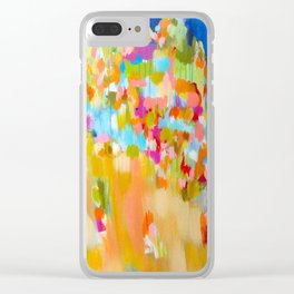Excessive Indulgence  Clear iPhone Case
