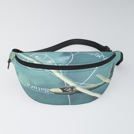 Longing (To travel again) Fanny Pack