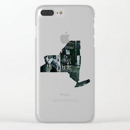 Asterisk/Right Arrow/Rainfall Clear iPhone Case