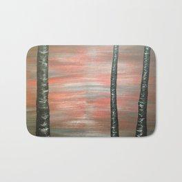 Red Dusk Bath Mat