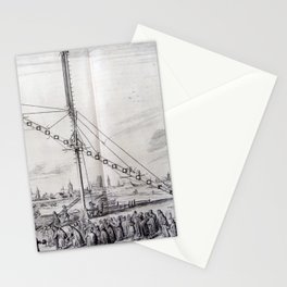 Johannes Hevelius - Celestial Devices, Part 1 - Plate 1 Stationery Cards