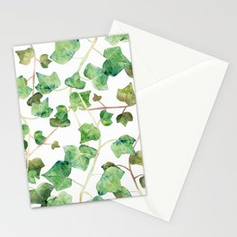English Ivy Pattern Stationery Cards