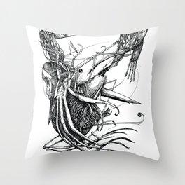 Aquatic Situation Throw Pillow