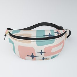 Mid Century Modern Geometric Abstract 195 Fanny Pack