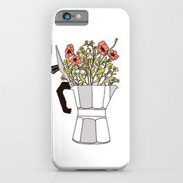 Moka Flowers iPhone Case