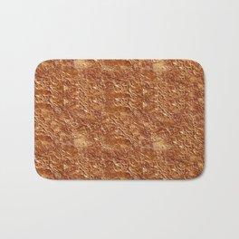 copper texture Bath Mat