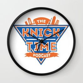 the Knick of Time Podcast Wall Clock