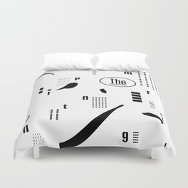 The Imprinting Duvet Cover