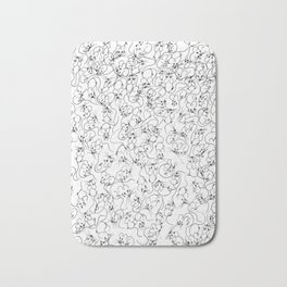 Many Mini Mice Bath Mat
