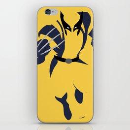 Logan Howlett iPhone Skin