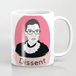 RBG Dissent Coffee Mug