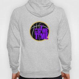 It's Game Time - Purple & Gold Hoody