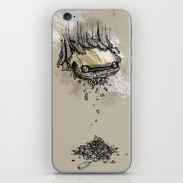It's here daddy! iPhone Skin