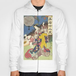 Draw of the Hare - Japanese Art Hoody