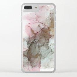 Smoky Quartz Clear iPhone Case