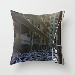Dereliction Throw Pillow