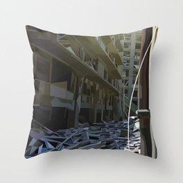 Dereliction Throw Pillow