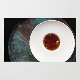 The Art of Food Gold Leaf Soup Rug