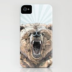 Grizzly iPhone (4, 4s) Slim Case