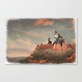 Harvest Noon Canvas Print