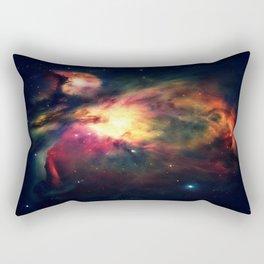 Orion NEbula Dark & Colorful : Hauntingly Beautiful Series Rectangular Pillow
