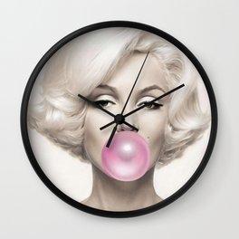 Marylin Monroe Art Print Poster01 Wall Clock