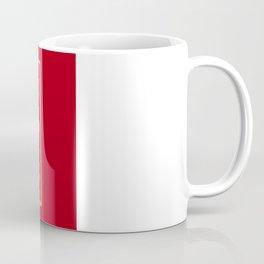 Invictus Eagle on Red Coffee Mug