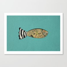 smart fish Canvas Print