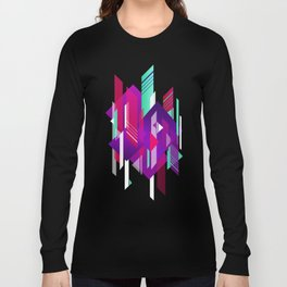 Shattered and Stained Long Sleeve T-shirt