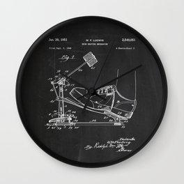 Drum Beating Mechanism Patent Wall Clock