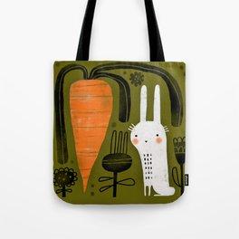 CARROT & RABBIT Tote Bag
