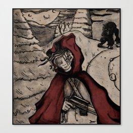Le Petit Chaperon Rouge Canvas Print